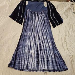 Boho Loft Maxi Skirt & Nomadic Traders Vest Medium